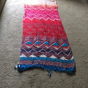 Multicolored gorgeous fashion scarf